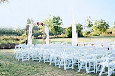 Heiraten im Freien im Hotel Freihof